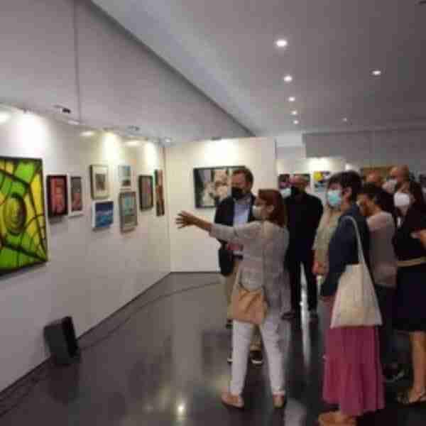 Exposición «Caja de proyectos 21» con 180 obras artísticas del Aula de Artes Plásticas de Albacete