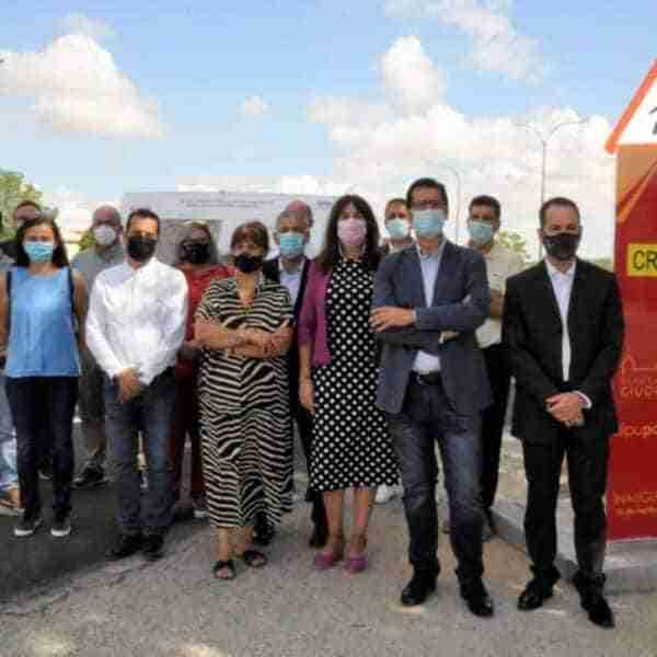 Inaugurada hoy la Ronda Este de Herencia, una apuesta por la movilidad sostenible