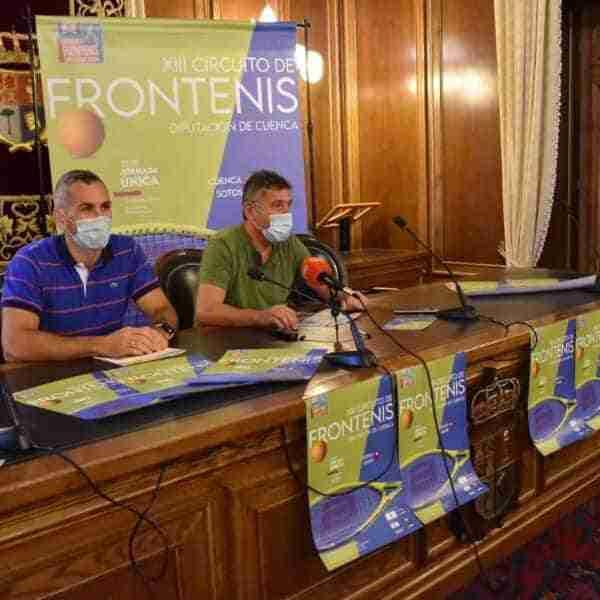Inscripciones para participar en el XIII Circuito Provincial de Frontenis en Cuenca finalizan el 14 de octubre