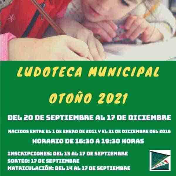 Ludoteca municipal en el Centro Larache de Ciudad Real del 20 de septiembre al 17 de diciembre