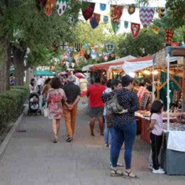 Mercadillo medieval en los Paseos del Río de Manzanares del 1 al 3 de octubre