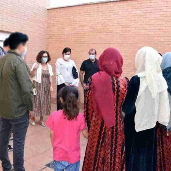 Miguelturra vive la solidaridad acogiendo a 17 personas refugiadas procedentes de Afganistán
