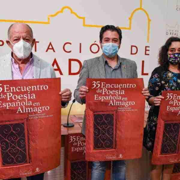 35 Encuentro de Poesía Española en Almagro del 21 al 24 de octubre en el Teatro Municipal