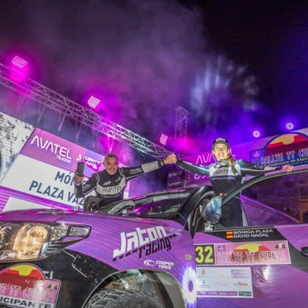 Mónica Plaza da su mejor versión en el Rally TT de Cuenca y Willy Villanueva se consolida