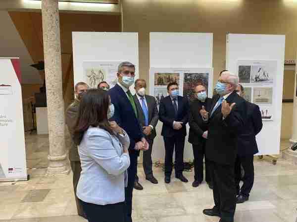 Toledo colabora con la exposición 'Lepanto, más allá de Cervantes', inaugurada hoy en la Facultad de Humanidades