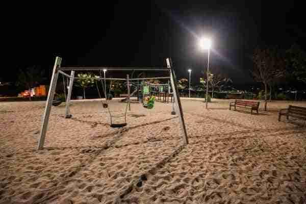Toledo ilumina el Parque Infantil Francisco de Pisa ubicado en La Legua para dar respuesta a una demanda vecinal