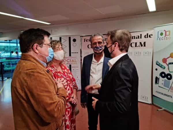 El Festival Internacional de Cine Social, Feciso, premia a Enrique Cerezo por su trayectoria y a José Mota por su vertiente solidaria
