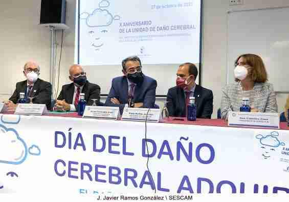 Castilla-La Mancha destaca el trabajo del Instituto de Enfermedades Neurológicas para que las personas con daño cerebral logren su máxima autonomía