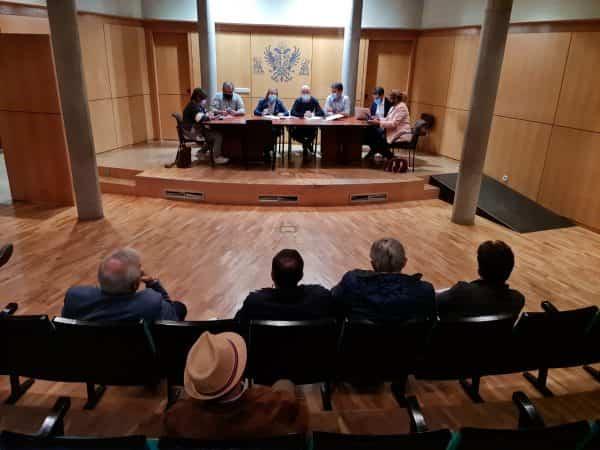El Gobierno local informa de la planificación de la obra de Reyes Católicos en el Consejo de Participación del Casco Histórico