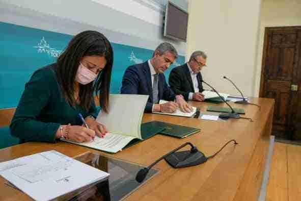 El Gobierno regional renueva con la Diputación de Toledo el convenio de ayudas de emergencia social para familias con menores
