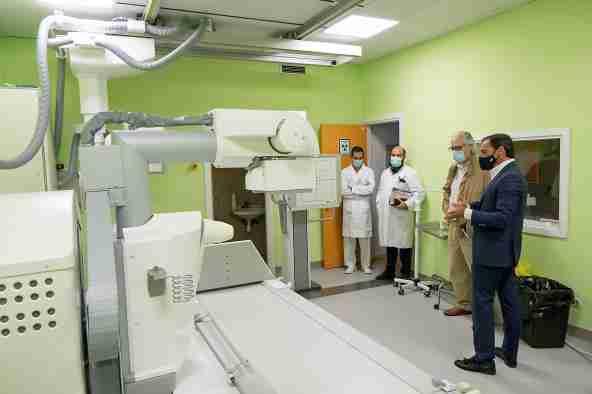 El Hospital Universitario de Guadalajara incorpora dos nuevas salas de radiología, una de ellas con capacidad de telemando