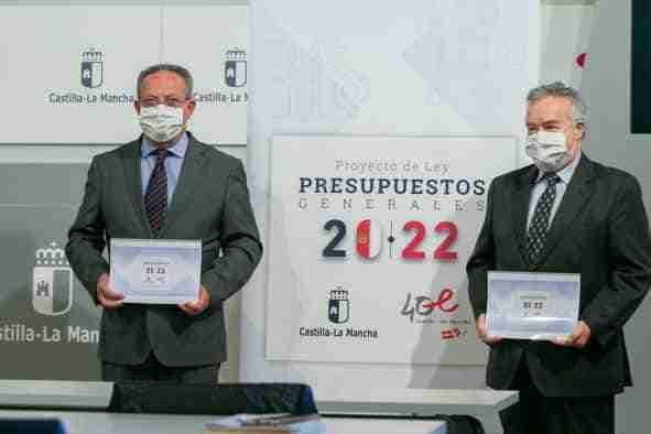 El presupuesto de Castilla-La Mancha para 2022 dará una salida justa a la crisis sin dejar a nadie atrás, reactivará el crecimiento y permitirá reducir la presión fiscal