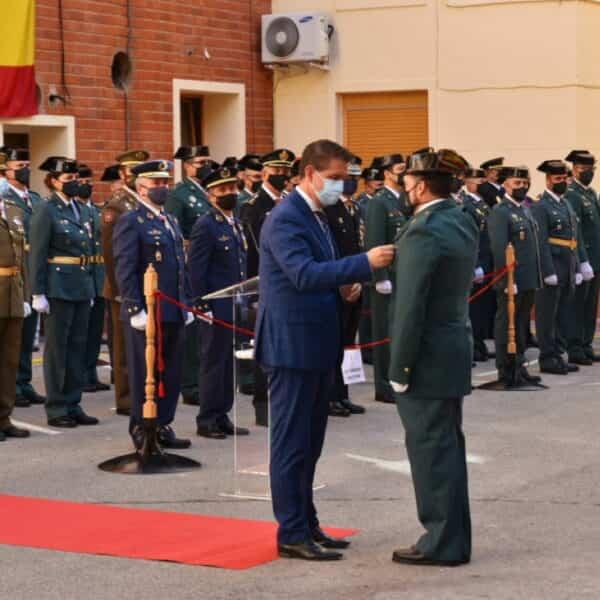 Actos institucionales de la Guardia Civil de Albacete en homenaje a su patrona con participación de la Diputación
