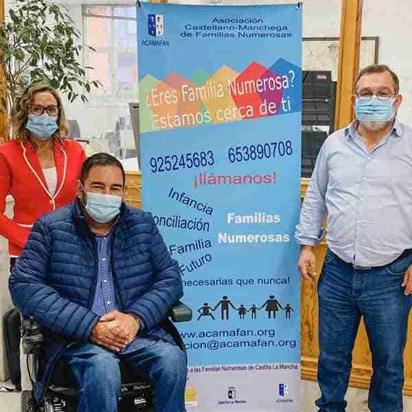 La Asociación Castellano-Manchega de Familias Numerosas traslada nuevas sugerencias de apoyo