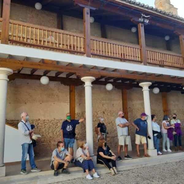 Veinte autocaravanas disfrutaron del patrimonio y la gastronomía en Torralba de Calatrava