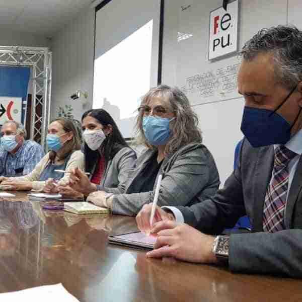 """Campaña de """"Sensibilización del comercio justo"""" en Puertollano con la participación de FEPU"""