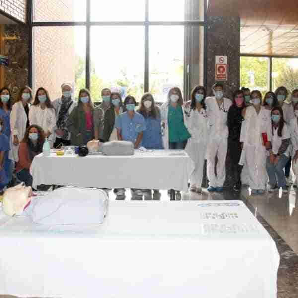 El Hospital Mancha Centro conmemora el Día Mundial de la Parada Cardiorrespiratoria