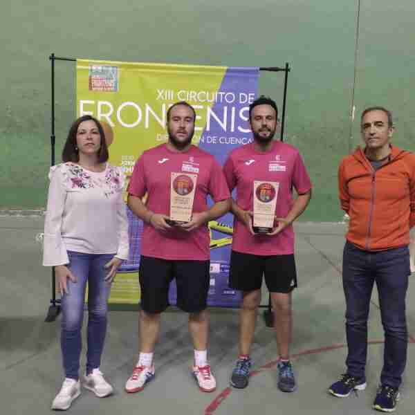 """Ganadores del XIII Circuito provincial de Frontenis """"Diputación de Cuenca"""""""
