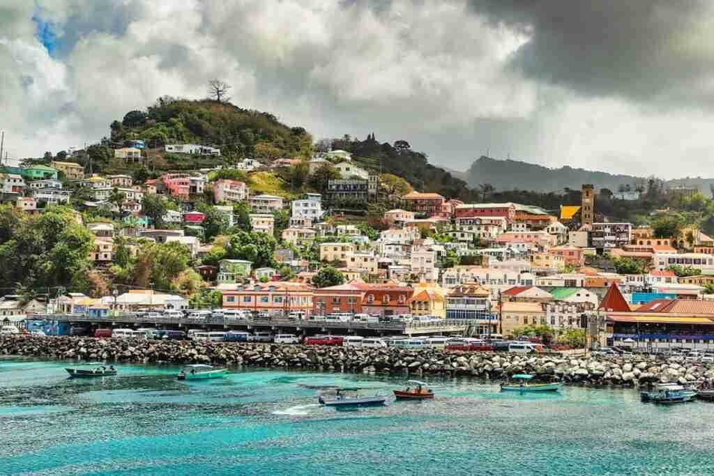 grenada en el caribe