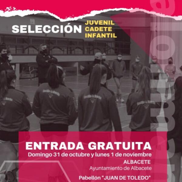 Jornada de tecnificación femenina los días 31 de octubre y 1 de noviembre en Albacete