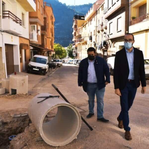 La Diputación de Albacete apoya a Bogarra en la mejora de calles con una inversión de más de 150.000€