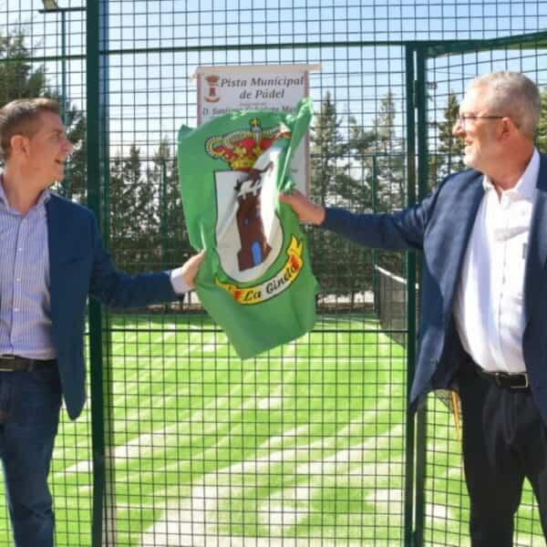 Inaugurada la pista de pádel de la localidad albaceteña de La Gineta con ayuda de 'Dipualba Responde'
