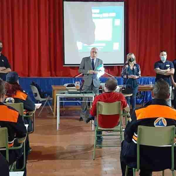 El Gobierno regional imparte el curso básico de Protección Civil a 42 voluntarios en Santa Cruz de Mudela