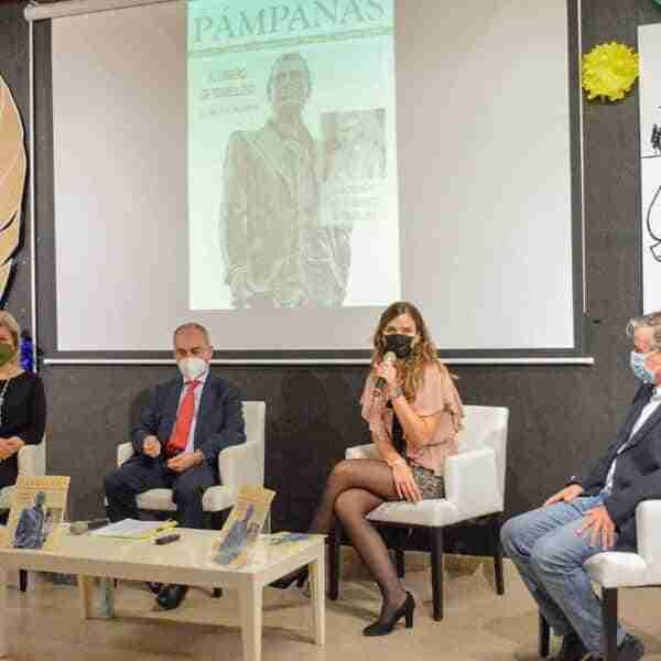 """Presentado nuevo número de la revista """"Pámpanas"""" de la Peña de Tomelloso en Madrid"""
