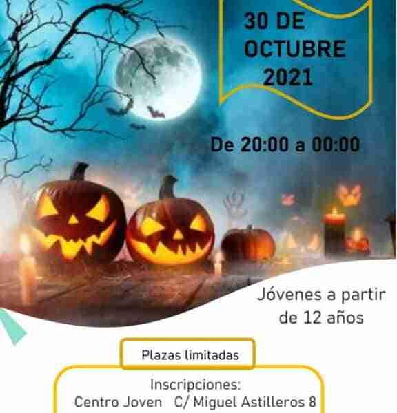 Taller de maquillaje de Halloween en Miguelturra para jóvenes a partir de 12 años