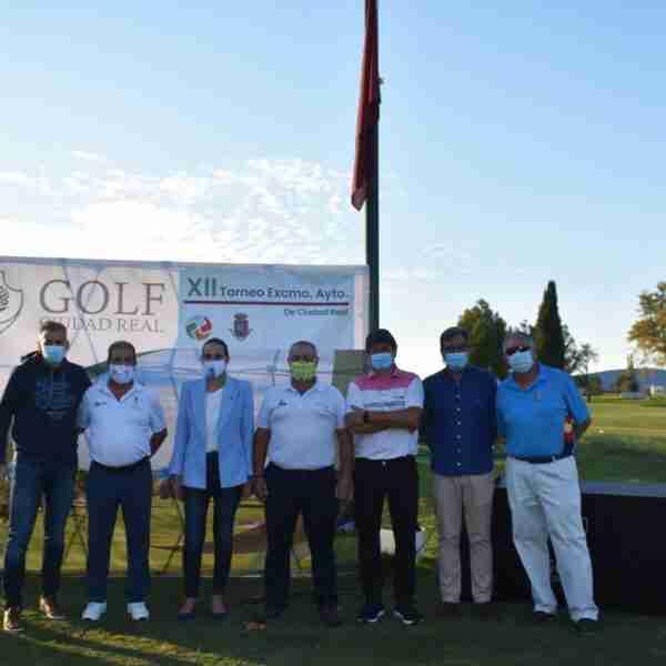 Ganadores de la XII edición del Torneo de Golf del Ayuntamiento de Ciudad Real